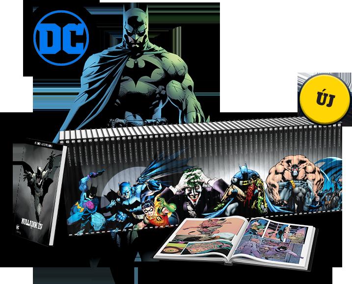 BRÉKING! Érkezik a Batman képregénysorozat!!