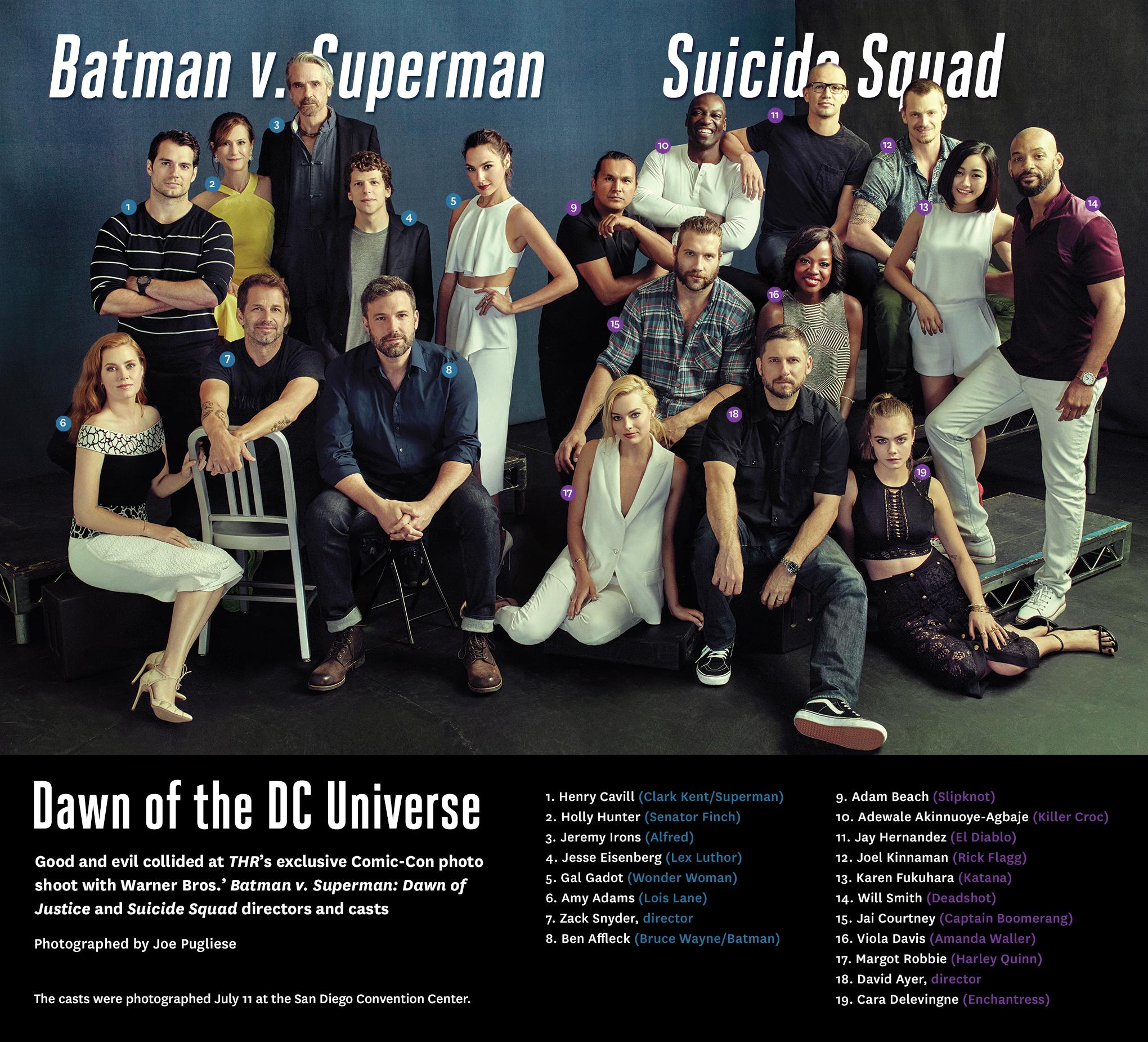 Családi fotó DC módra