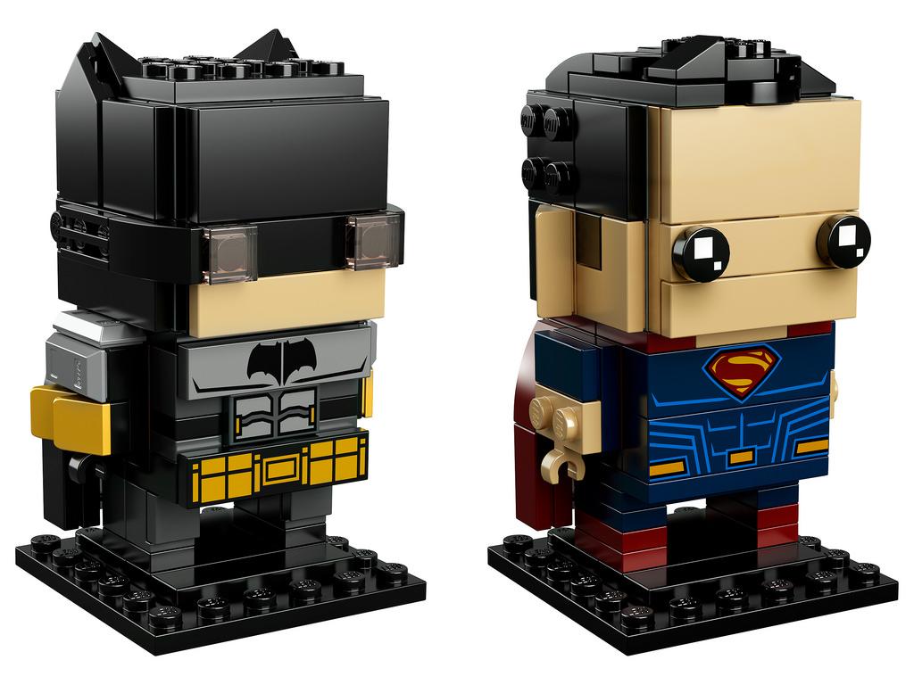 Batman és Superman kocka formában