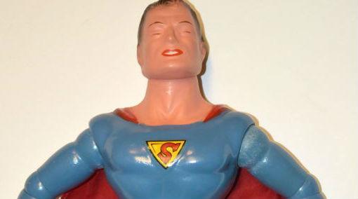 A legelső szuperhős akciófigura - Superman bábú a múltból