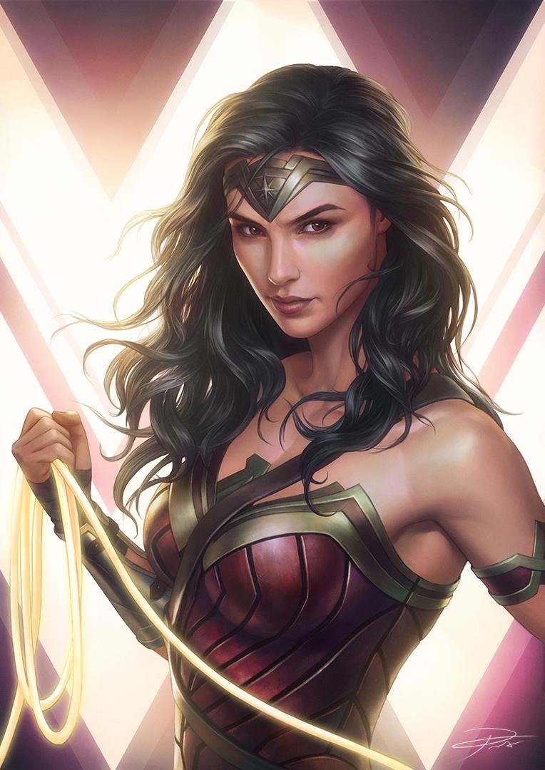 Wonder Woman (Gal Gadot) fan artok
