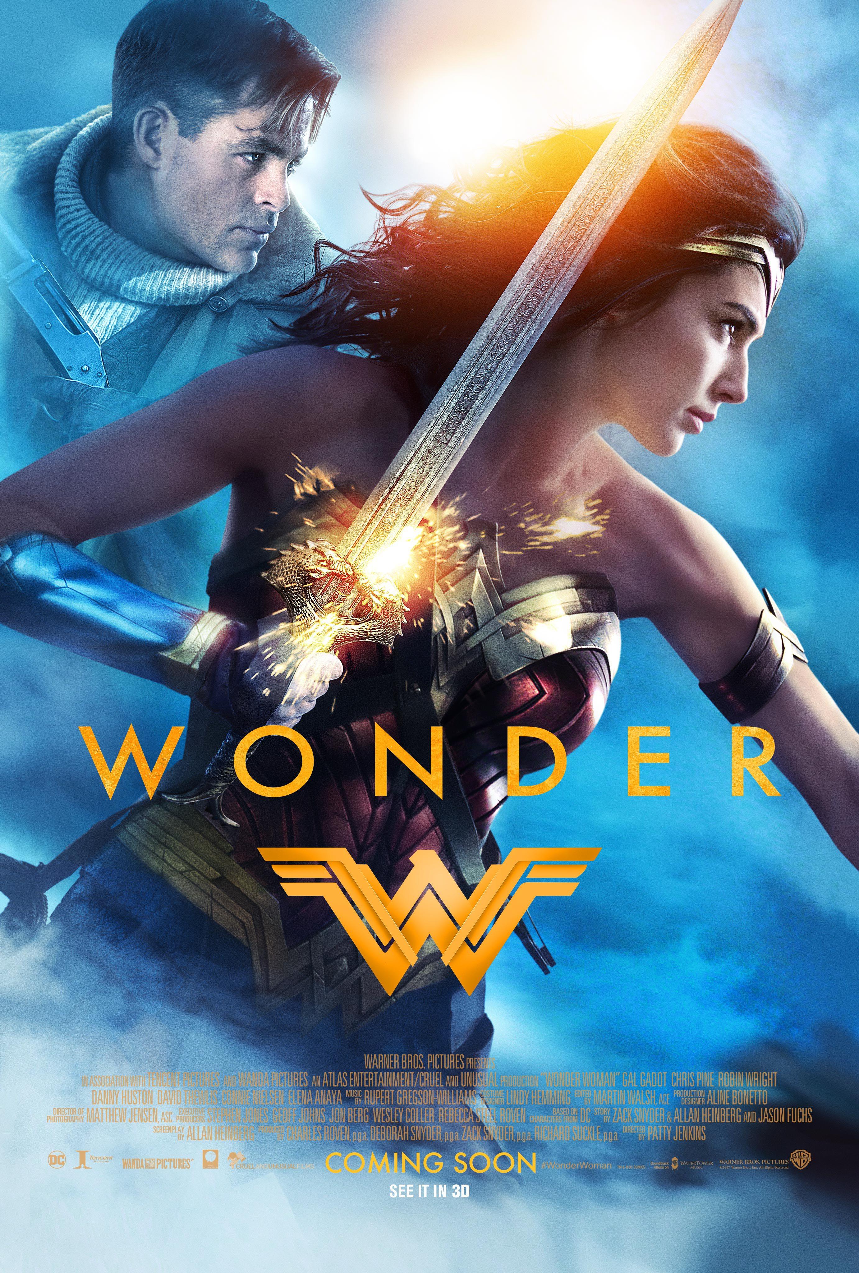Wonder Woman újabb poszert kapott!