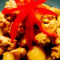 Mascarponés csirke gnocchival
