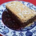 Pille könnyű csokis-diós pite