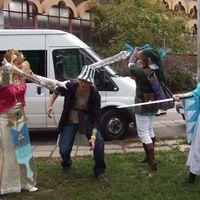 Zelda-Cosplay a 2008. őszi Animeconon