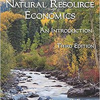 ;UPD; Natural Resource Economics: An Introduction, Third Edition. single nueva buque friends Ijambo actos