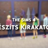 Így készíts kirakatokat a The Sims 4-ben.