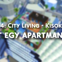 TS4: City Living - Kisokos: Élet egy apartmanban.