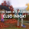 The Sims 4: Évszakok - Kiszivárogtak az első infók.