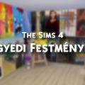 The Sims 4 - Egyedi festmények a galériából!