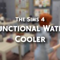 The Sims 4 : Functional Water Cooler - Játékteszt