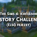 The Sims 4 - History challenge (Part 1) - Kihívás