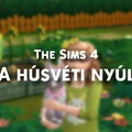 Így készítheted el a Húsvéti Nyuszit a The Sims 4-ben.