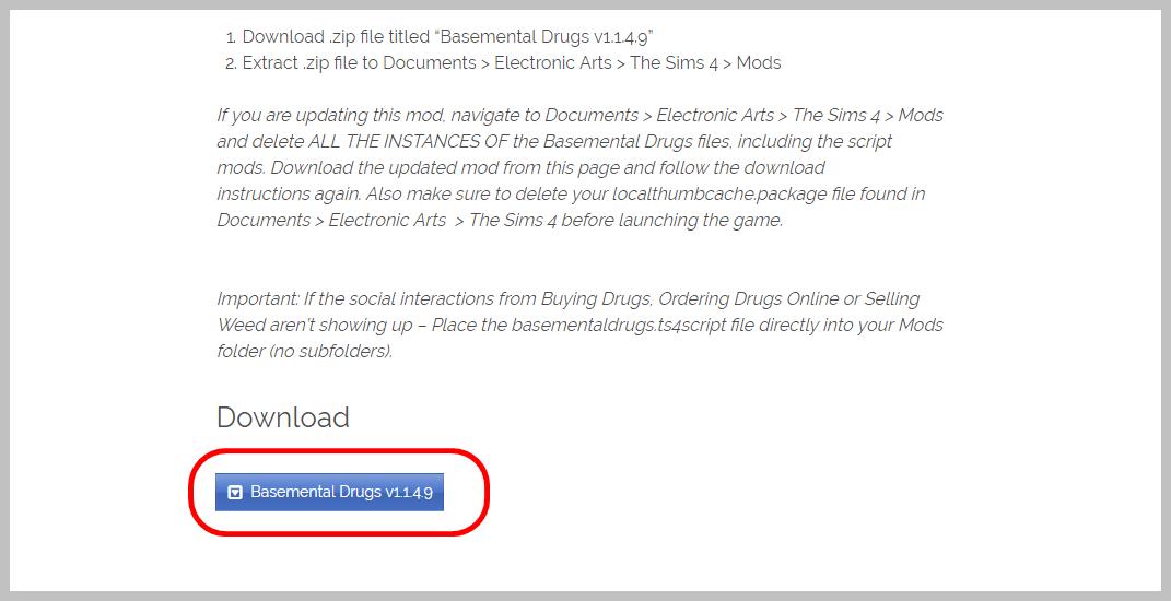 The Sims 4: Basemental Drugs Mod (18+) - Játékteszt - The