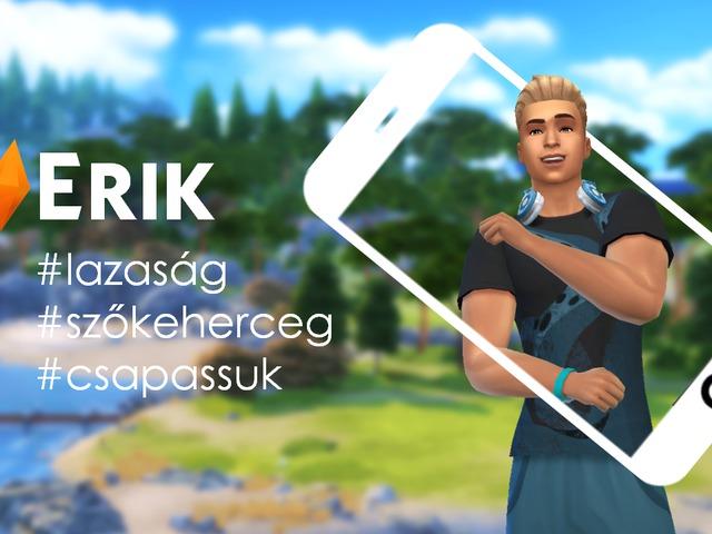 Ismerd meg a Villa szőke hercegét, Eriket!