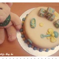 Babaköszöntő torta