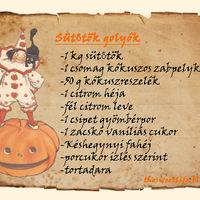 Egészséges Halloweeni Sütőtökgolyók