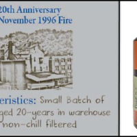 Heaven Hill Select Stock 20 years old - egy tűzeset emlékezete