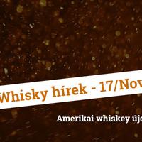 Whisky hírek 2017. november - Amerikai újdonságok