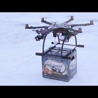 Sörfutár drón