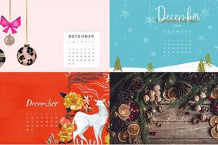 Letölthető decemberi háttérképek