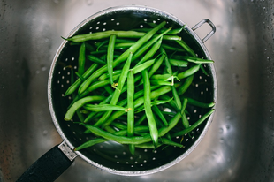 Ezt mindenki megeszi: tejszínes zöldbab főzelék