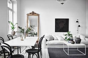 Lakásbemutató: 98 m2-es svéd otthon hófehérben
