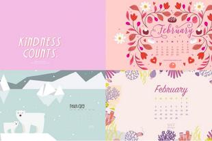 Letölthető februári háttérképek