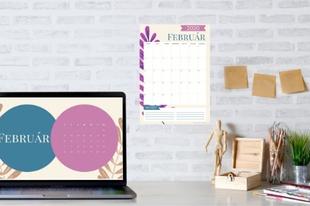 2020 februári naptárak