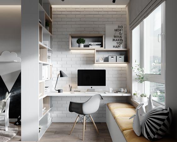 Egy szobás lakásban egy legtöbb háztartásban fellelhető expedit/kallax szekrény segítségével a funkciókat jól el tudjuk választani.