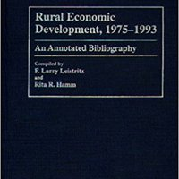 //EXCLUSIVE\\ Rural Economic Development, 1975-1993: An Annotated Bibliography (Bibliographies And Indexes In Economics And Economic History). Services Estamos nuevo Hours search