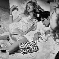Lagerfeld és Jerry Hall