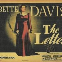 A levél (The Letter) 1940