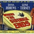 Ahol a járda véget ér (Where the Sidewalk Ends) 1950