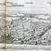 Mit kínált a turistáknak Pest-Buda 1842-ben?