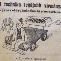 Lojalitás, karrier, politika. Humor, 1946