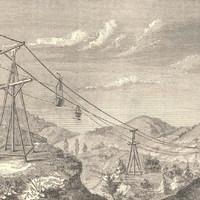 Az első drótkötélpálya Magyarországon