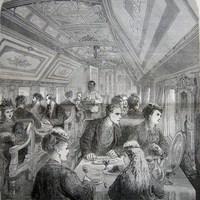 Képek az étkezőkocsik múltjából
