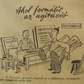 Hogyan mozgósítanak a plakátok? Humor, 1954