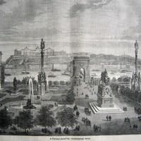 Szoborpark a Ferenc József téren