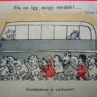 A humor ötven évvel ezelőtt