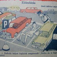 A belvárosi parkolás
