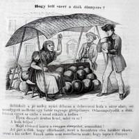 Egy debreceni képes anekdota 1858-ból