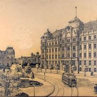 A Kossuth tér a háború előtt