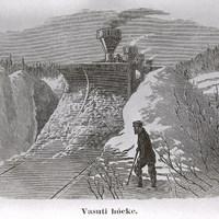 Téli vonatozás. Úti kalandok a régmúltból