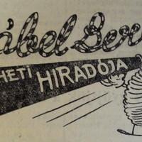Kábel Berci, avagy a vállalati humor az ötvenes években