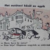 Soproniak vicces élete, 1956