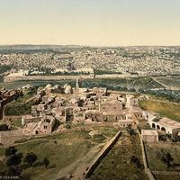 Jeruzsálem száz évvel ezelőtt