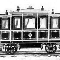 A MÁV első udvari kocsija Ferenc Józsefnek