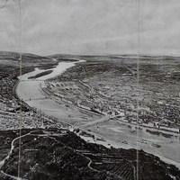 Budapest madártávlatból, 1900